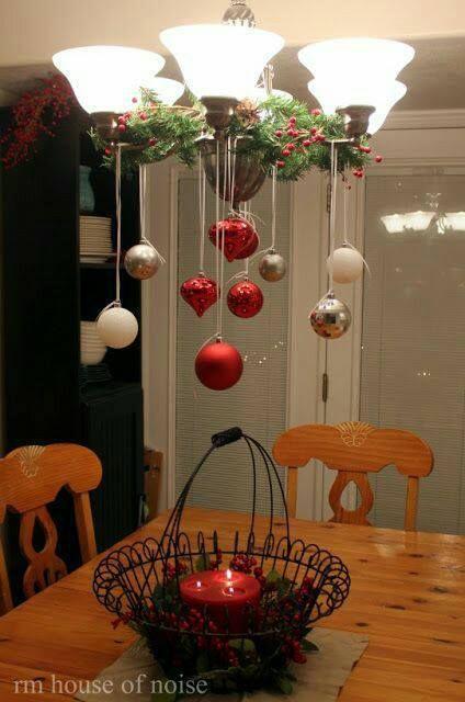 Al acercarse la Navidad deseas decorar tu hogar para que luzca aún más cálido y acogedor, creando un ambiente navideño maravilloso con muchas decoraciones y adornos. En esta ocasión tenemos unas imágenes para decorar lámparas de techo preciosas. No necesitas hacer gastos, con los mismos adornos del árbol que pudieran sobrar, será suficiente para realizar …