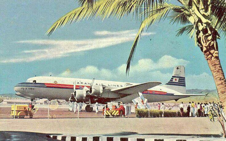 Japan Airlines - JAL Douglas DC-6