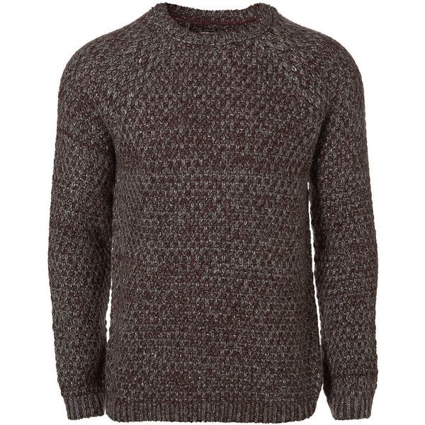 Metallic Textured Jumper - New In Clothing - New In - TOPMAN ❤ liked on Polyvore featuring men's fashion, men's clothing, men's sweaters, men, sweaters, tops, мужское, mens jumpers and mens sweaters