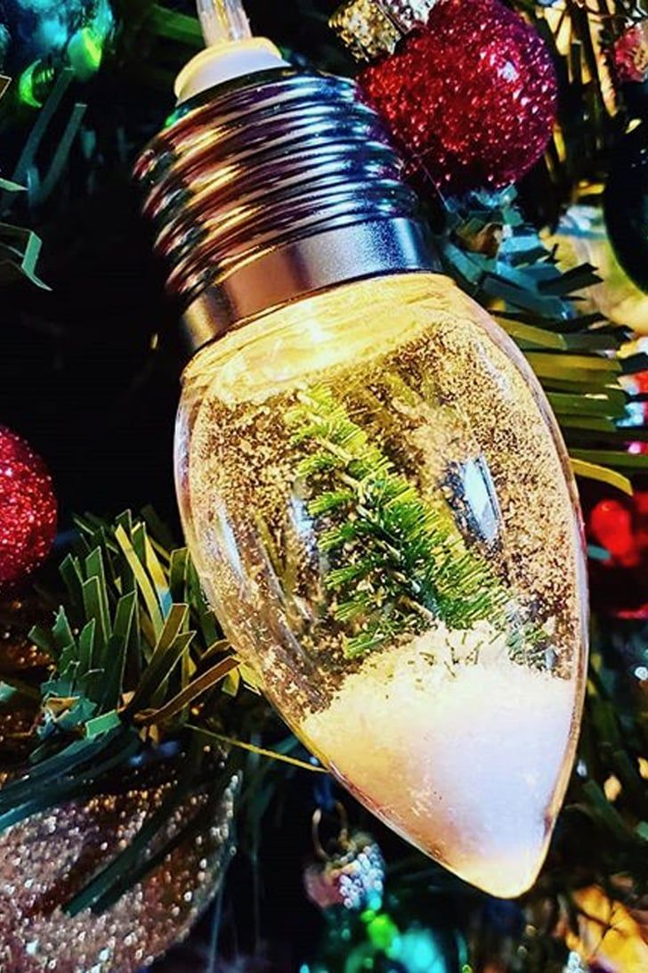 Target S 5 Snow Globe Lights Are Here To Illuminate Your Home With Holiday Happiness Target Christmas Christmas Tree Decorations Xmas Tree Decorations