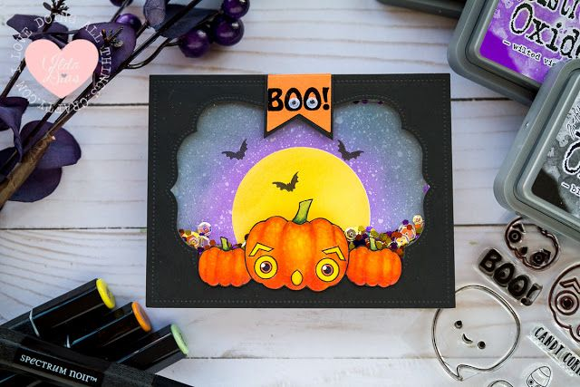 I Love Doing All Things Crafty: A Pumpkin Boo Shaker Card - Ink on 3