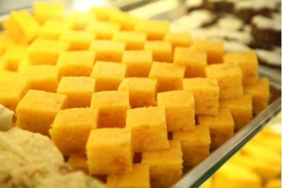 How to make Pineapple Katli (Pineapple Burfi) - Delicious and easy to make pineapple flavoured burfi. A simple sweet for any occasion. Ingredients: Pineapples - 2 cups, finely chopped Ghee