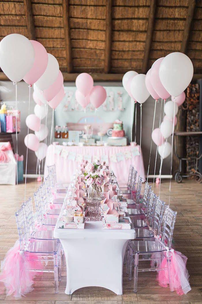 Girly Vintage Car Birthday Party Vintage Birthday Parties Pink
