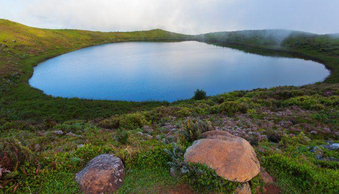 Galápagos El Junco Lagoon