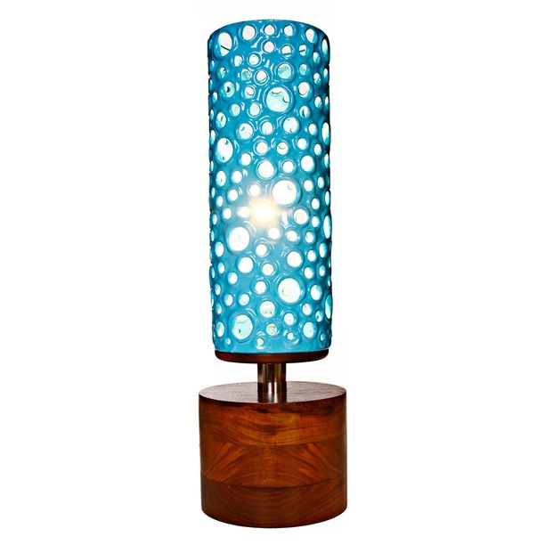 The Manhattan Lamp Blue: Lamp Blue Love, Fab, Cool Lamps, Manhattan Lamp, Products, Design