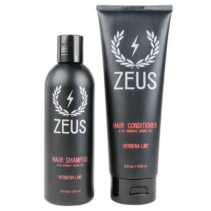Zeus Hair Shampoo and Conditioner Set- Made with Organic Argan Oil in Verbena Lime Scent! *** Read more at the image link. #hairdo
