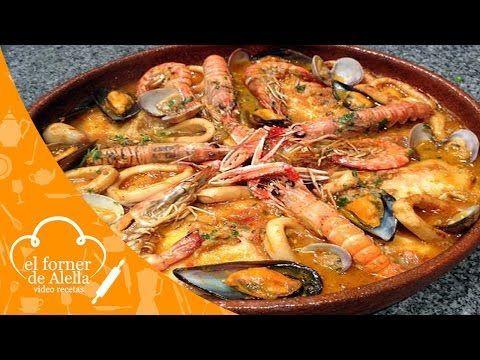 Zarzuela de Pescado y Marisco - YouTube