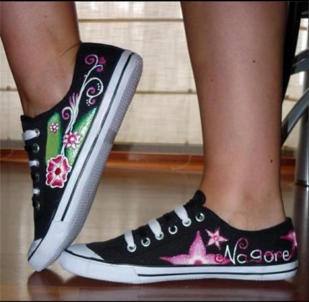 31 best images about personalizar zapatos on pinterest - Zapateros de tela ...