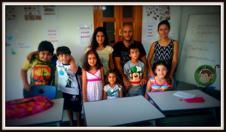 Last day of Summer School...#CME4K Sadece çocuklar (Okul Oncesi - Ilkokul - Ortaokul) için İngilizce dil kursu İzmir