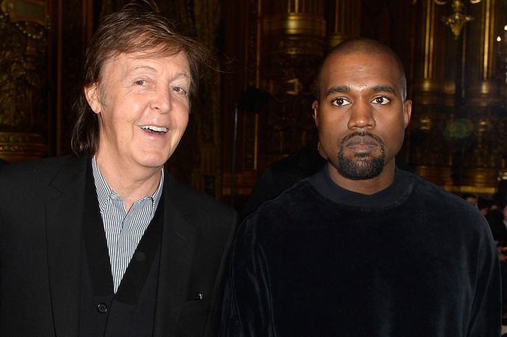 PAUL ON THE RUN: Paul McCartney Says Working With Kanye West Was 'I...