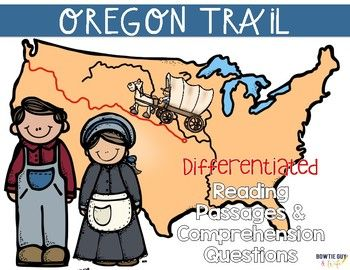 In this resource, there is a nonfiction reading passage about Westward Expansion, the Oregon Trail and the pioneer journey from Independence, Missouri, to Oregon City, Oregon. It is differentiated for your high, mid, and lower level students. Integrate American History content with your