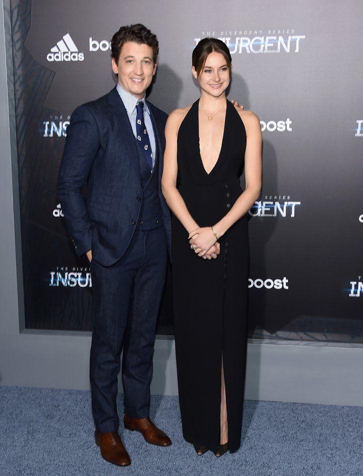 Pin for Later: Shailene Woodley Stuns Alongside Her Handsome Insurgent Costars Miles Teller and Shailene Woodley
