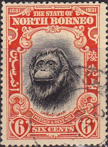 The state of North Borneo - former british protectorate and Crown Colony of Great Britain. Now part of Malaysia.