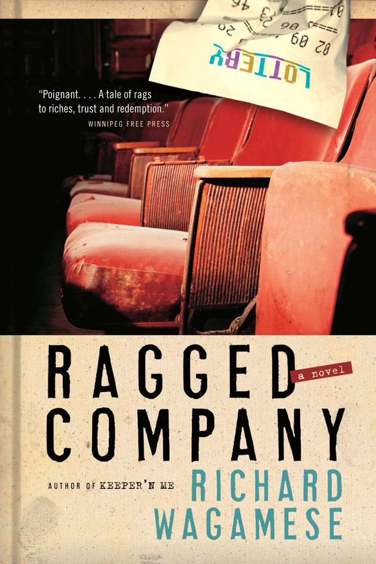 Ragged Company by Richard Wagamese is a Canada Reads Top 40 book! If you want this title to move on, you should vote for it!
