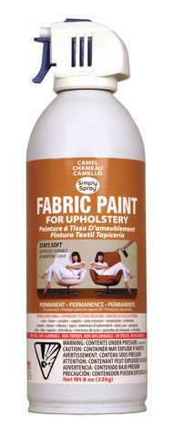 upholstery spray paint - Hobby Lobby $10, $6 w 40% off coupon