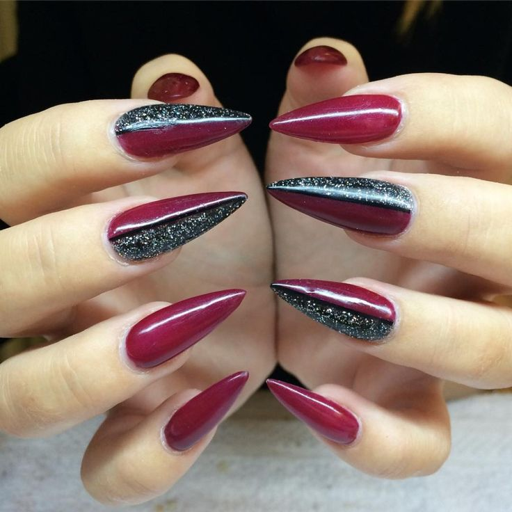 stiletto-nail-art-desig-idea-best-diy