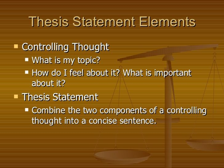 what is an example of an effective thesis statement why is it effective