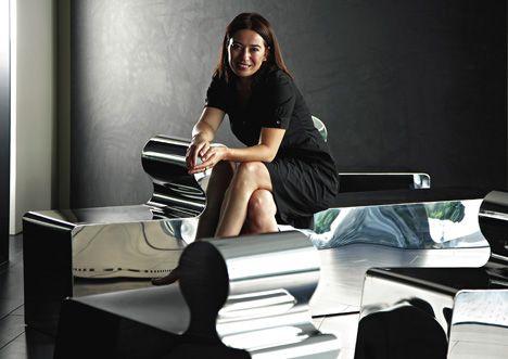 Dondola furniture set by Defne Koz for Megaron