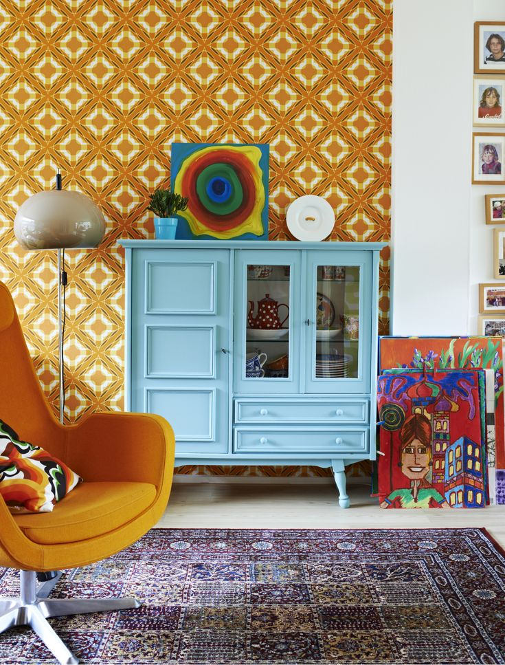 Creative Ways To Bring Colour Into Your Home