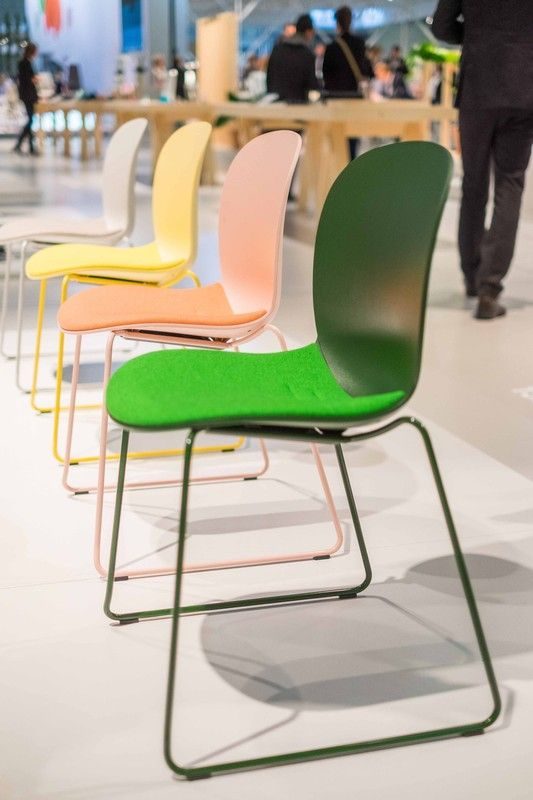 RBM Noor is a contemporary classic that brings life to rooms!!! - Orgatec 2016 #InspireGreatWork #design #event #furniture #Scandinavian