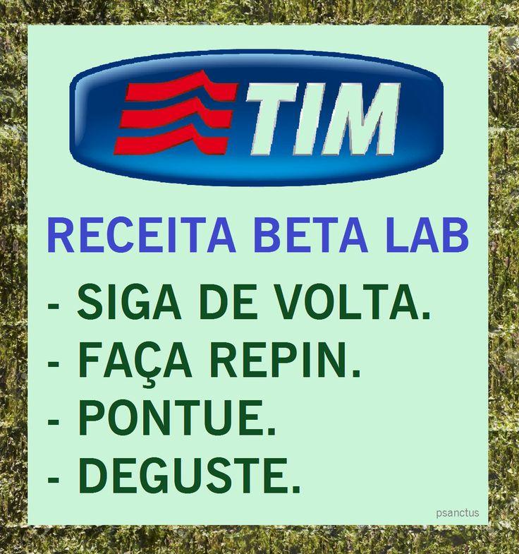 @SDV #REPIN #OperacaoBetaLab #timbeta