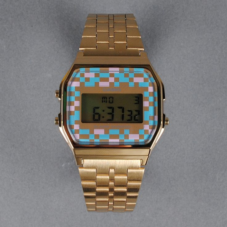 casio vintage watch multicolor