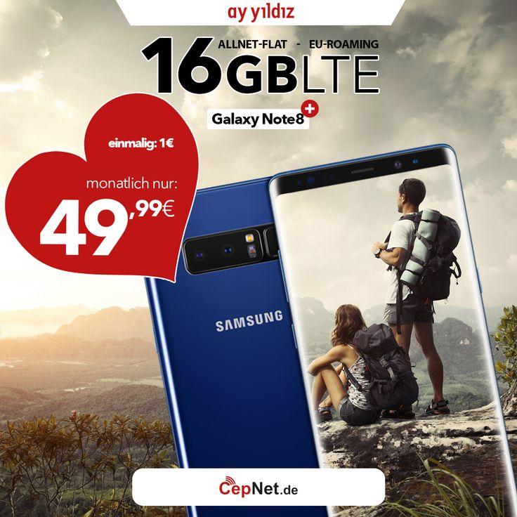 ❤💑🎁 Valentine's Day Sale  Samsung Galaxy Note 8 64GB mit günstigem ay yildiz Ay Allnet Max HW10 Vertrag  👉👉 https://www.cepnet.de/smartphones/samsung/galaxy-note-8/64gb-midnight-black/ay-yildiz/ay-allnet-max-hw10/?utm_source=cepnet_sosyal&utm_campaign=note8&bid=faa    #CepNet #Ayyildiz #Samsung #GalaxyNote8 #Vertrag #WinterSale #Valentinesday #Deutschland #Valentinstag #Sale #Handy #Smartphone