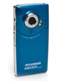 Sylvania 720p HD Pocket Video Digital  Camera/Camcorder w/4x Digital Zoom, HDMI & 2-inch LCD (Peacock Blue)   Just $5.66