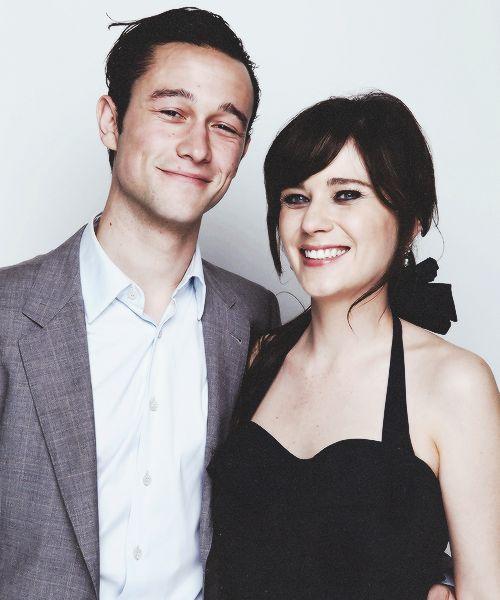 Zooey and Joseph Gordon Levitt. Cutest couple.