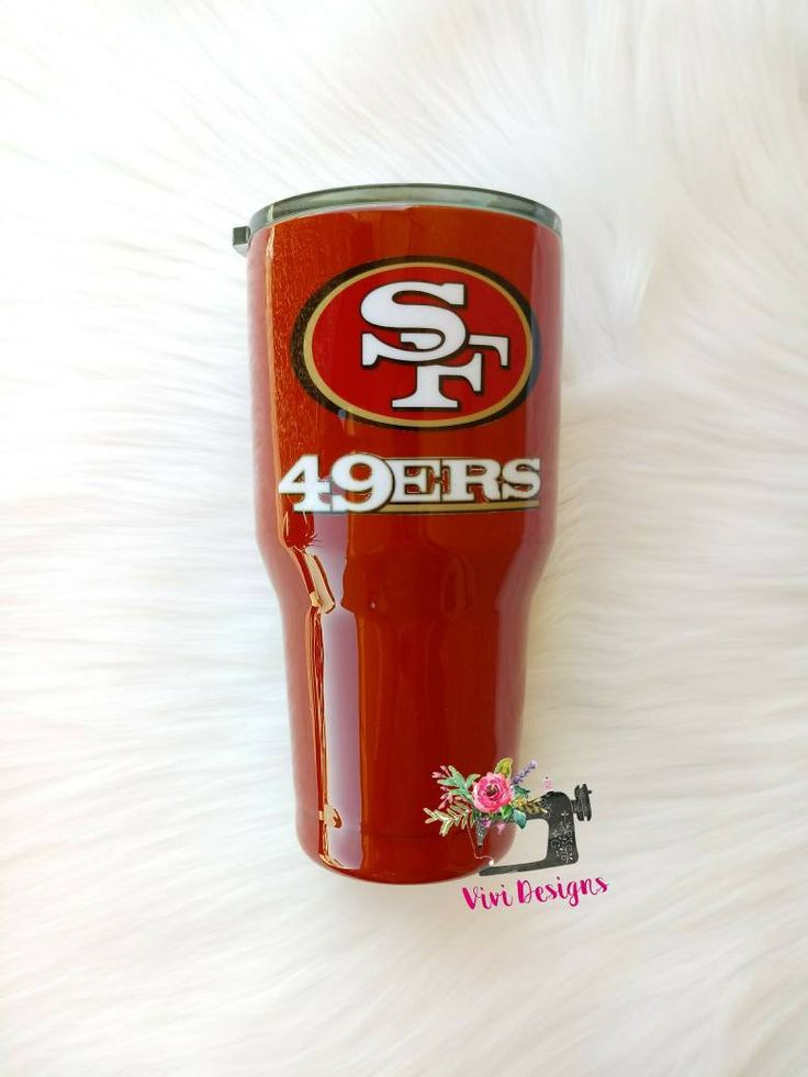 49ers Tumbler San Francisco 49ers Tumbler Custom Tumblers Cup Design Tumbler Cups