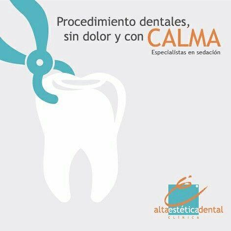 Si la odontología te causa temor, queremos contarte qué tenemos la opción de realizarte procedimientos dentales con sedación, llámanos. te asesoramos sin ningún costo. 4449933 - 310 4675209