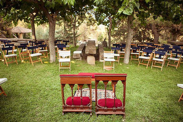 Una boda al aire libre en Balaguer