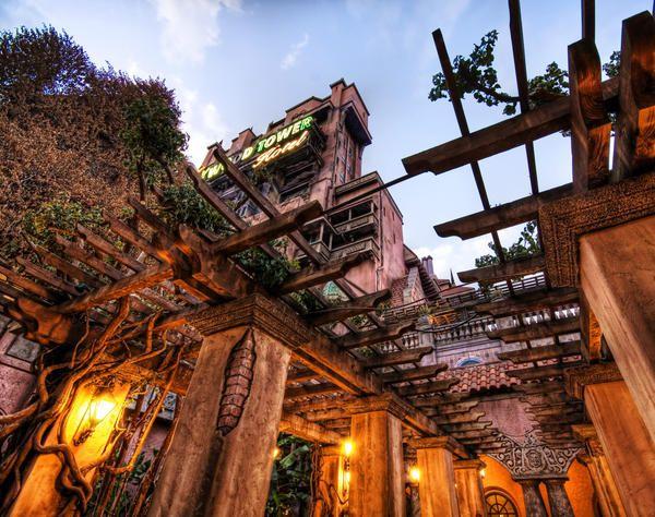 The Haunted Gardens ツ Disney Theme Parks Orlando http://www.thewondermap.com/disney-theme-parks-in-florida/