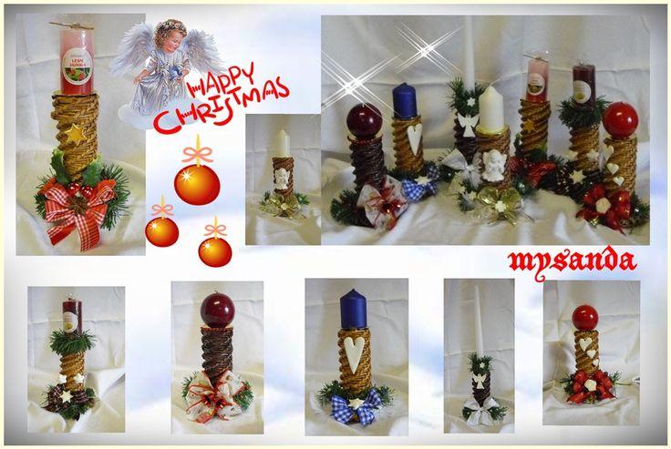 moje tvořeníčko - Fotoalbum - PLETENÍ Z PAPÍRU 2011 - vánoční pletení z papíru 2011