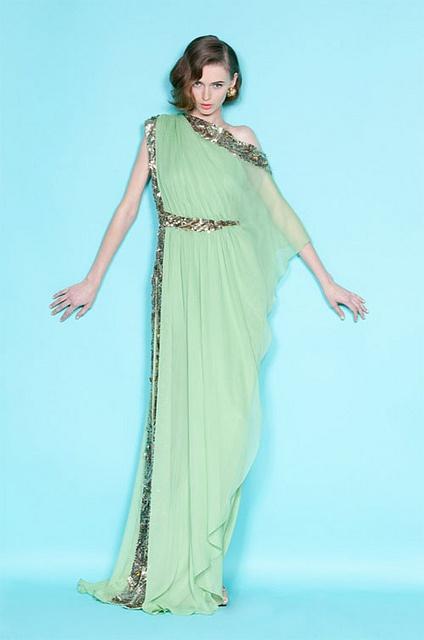 ml1 by {this is glamorous}, via Flickr: Long Dresses, Mint Green, Runway Fashion, Goddesses Dresses, Fashion Week, The Dress, Resorts 2012, Grecian Goddesses, Marchesa Resorts