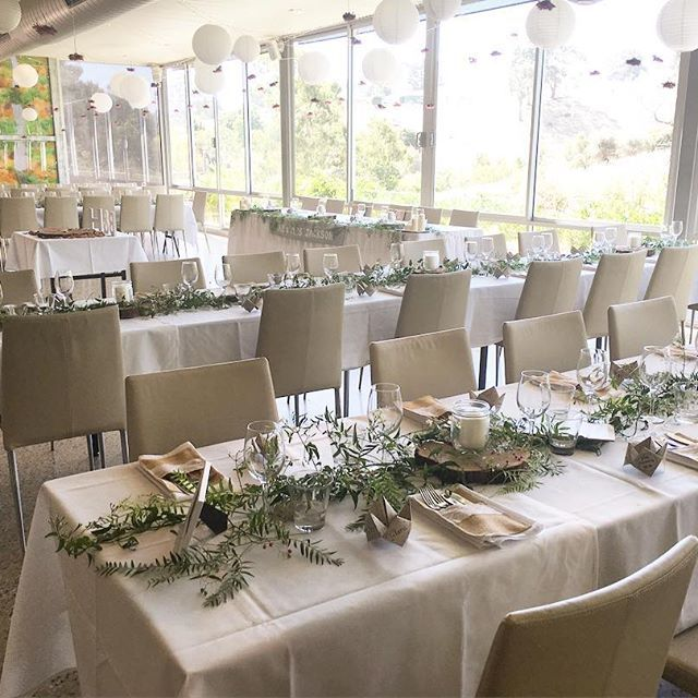 Long rows allow for more guests and a bigger dance floor! How nice is the set up from last night's wedding? #inglewoodinn #adelaidehills #adelaidweddingvenue #adelaidehillsweddings #inglewoodinnweddings