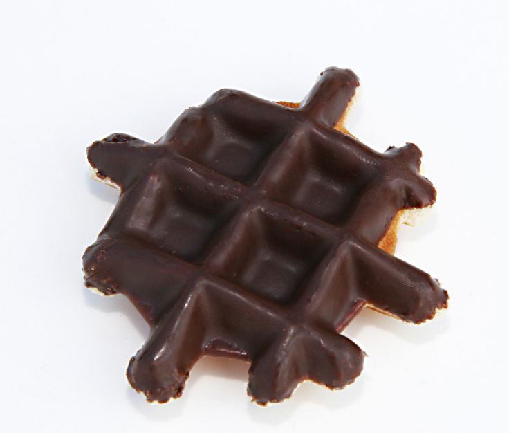 mini gaufre belge au chocolat - www.chockies.net