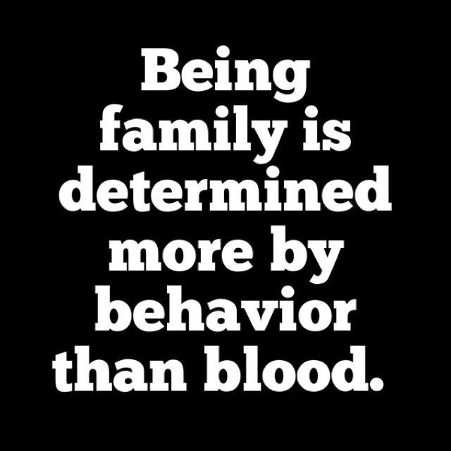 So this means I have zero blood relatives. It's so bad a friend told to just pretend thry were all dead!