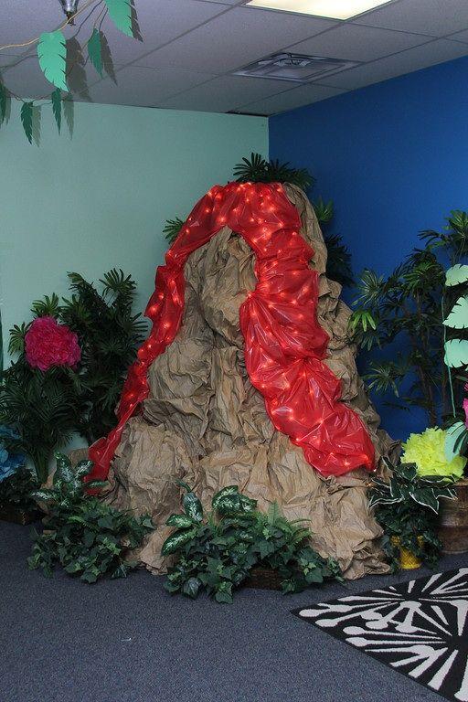 Classroom Ideas Beach Theme ~ Volcano vbs weird animals at garden fellowship