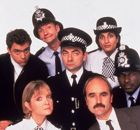 The Thin Blue Line. I am watching the series again and still laughing my head off. My kind of humour ⭐️