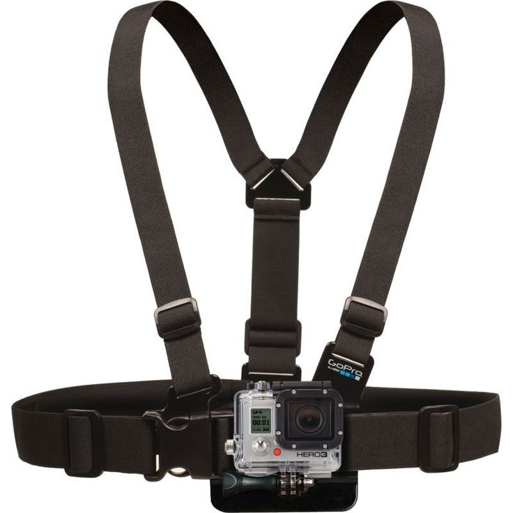 GoPro Chest Mount Harness, Silver