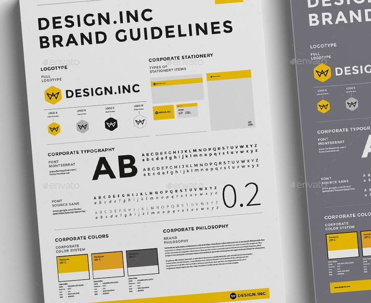 Brand Manual and Identity Poster  Minimal and Professional Brand Manual  and Identity Poster template for creative businesses, created in Adobe InDesign in International DIN A3 format.   This  Bra...