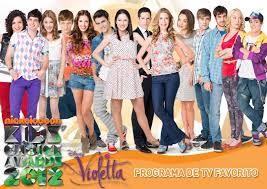 Aqui estan todos menos Violetta!!!!!