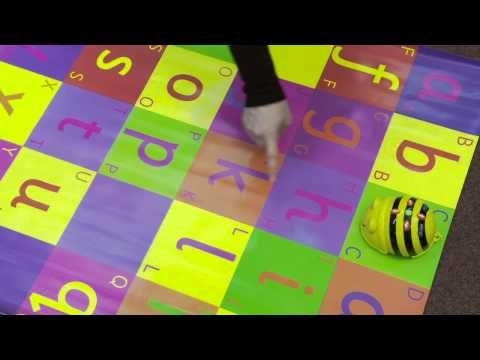 Beebot from TTS used for Literacy activities - YouTube
