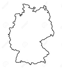 Image result for umriss deutschland