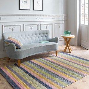 Enjoy Flatweave Rugs in Blue 219 001 500 - Free UK Delivery - The Rug Seller