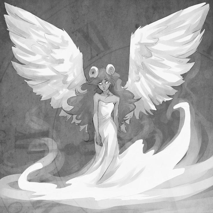 Gorgeous Aradia. (Angel of Time by atrueenglishman.deviantart.com)