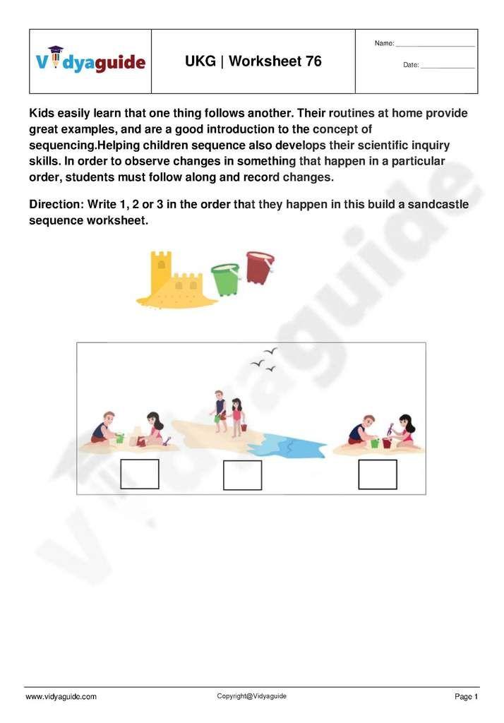 Ukg Worksheets Pdf Free Download 76 Kindergarten Worksheets