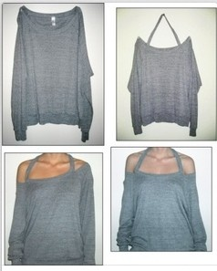 Cool Sweatshirt Alteration - Love cold shoulder tops