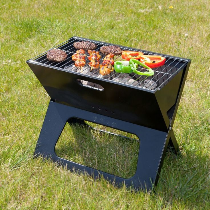 barbecue portable pliant notebook - Barbecue Fait Maison En Fer